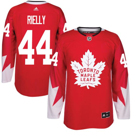2017 NHL Toronto Maple Leafs Men 44 Morgan Rielly red jersey