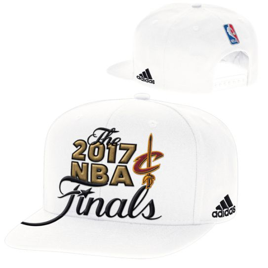 Adidas Cleveland Cavaliers White 2017 Eastern Conference Champions Snapback Nba Hat