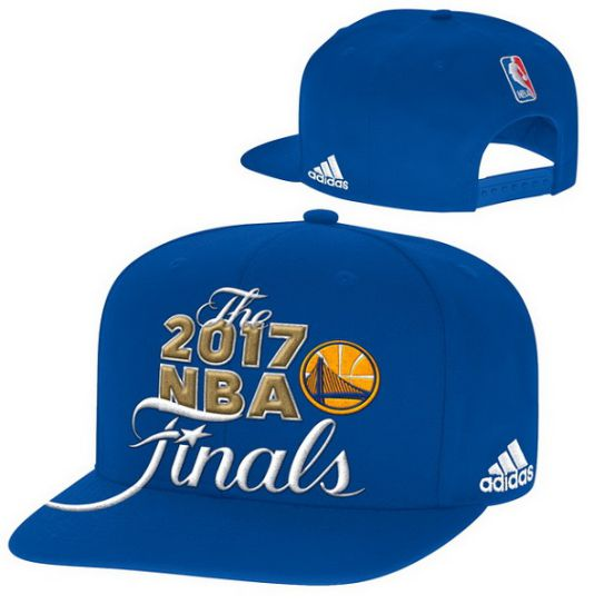 Adidas Golden State Warriors Blue 2017 Western Conference Champions Snapback Nba Hat