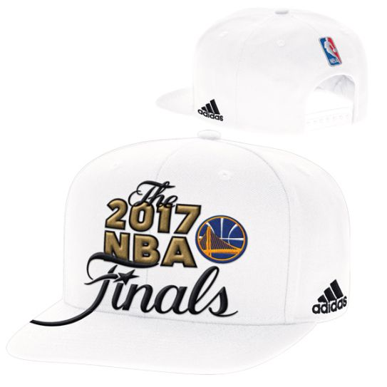 Adidas Golden State Warriors White 2017 Western Conference Champions Snapback Nba Hat