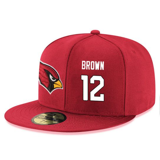 Arizona Cardinals 12 Brown Red NFL Hat