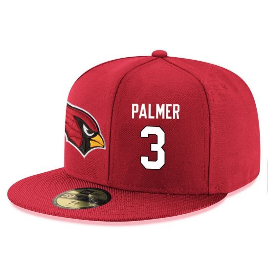 Arizona Cardinals 3 Palmer Red NFL Hat