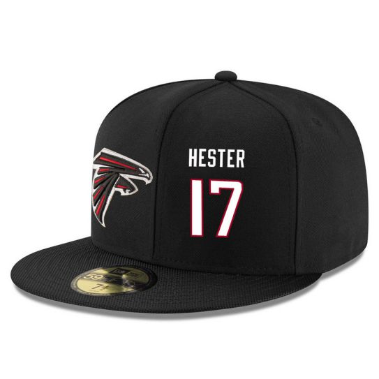 Atlanta Falcons 17 Hester Black NFL Hat
