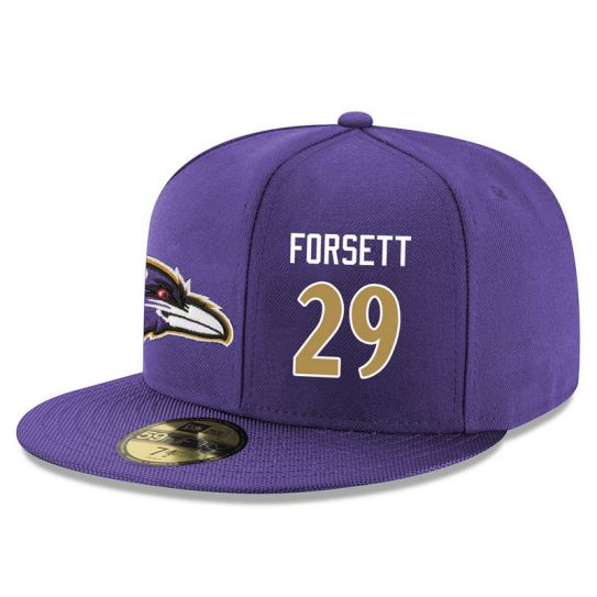 Baltimore Ravens 29 Forsett Purple NFL Hat