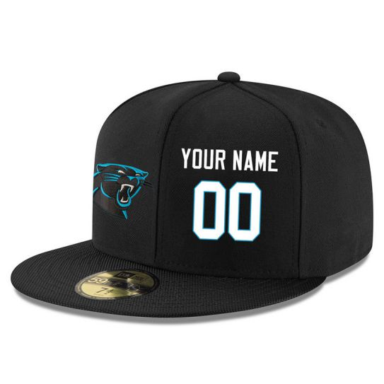 Carolina Panthers Custom Black NFL Hat