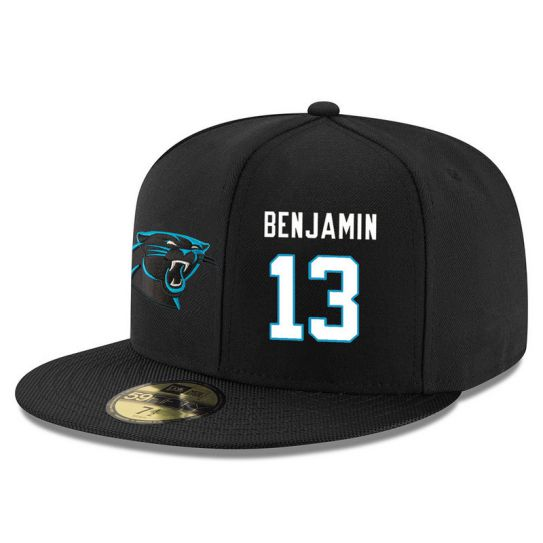 Carolina Panthers 13 Benjamin Black NFL Hat