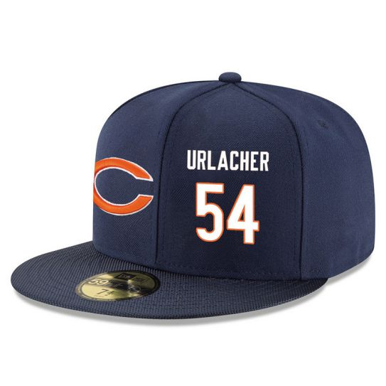Chicago Bears 54 Urlacher Blue NFL Hat