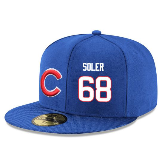 Chicago Cubs 68 Soler Blue MLB Hat