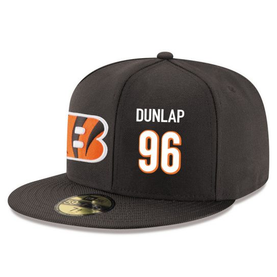 Cincinnati Bengals 96 Dunlap Brown NFL Hat