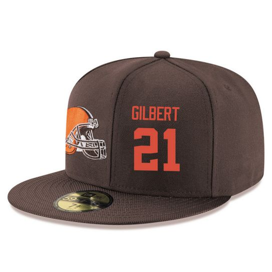 Cleveland Browns 21 Gilbert Brown NFL Hat