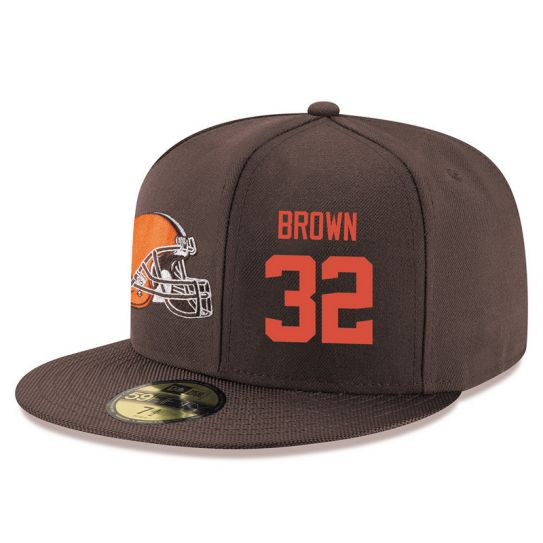 Cleveland Browns 32 Brown Brown NFL Hat