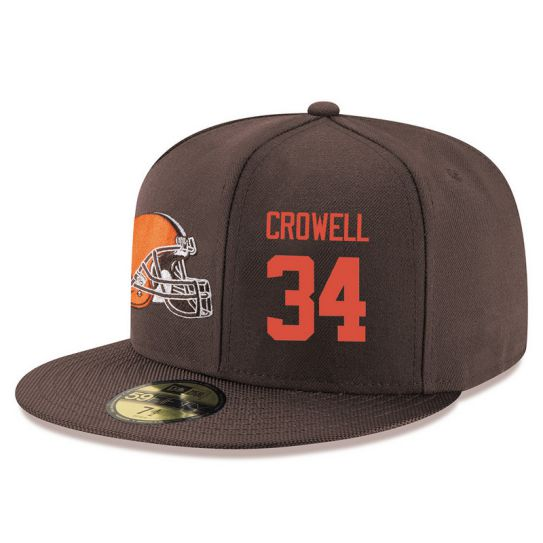 Cleveland Browns 34 Crowell Brown NFL Hat