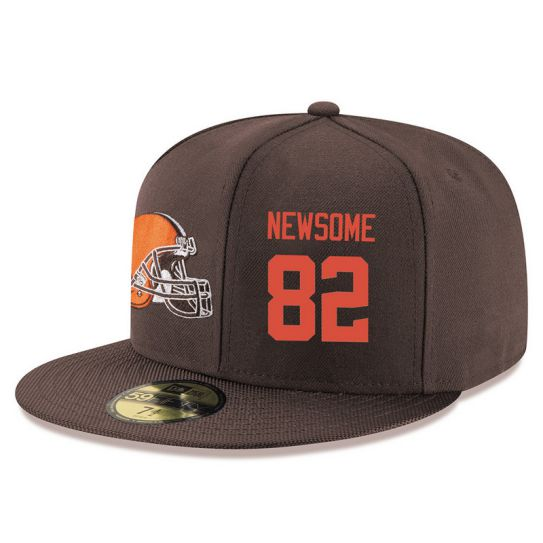 Cleveland Browns 82 Newsonme Brown NFL Hat