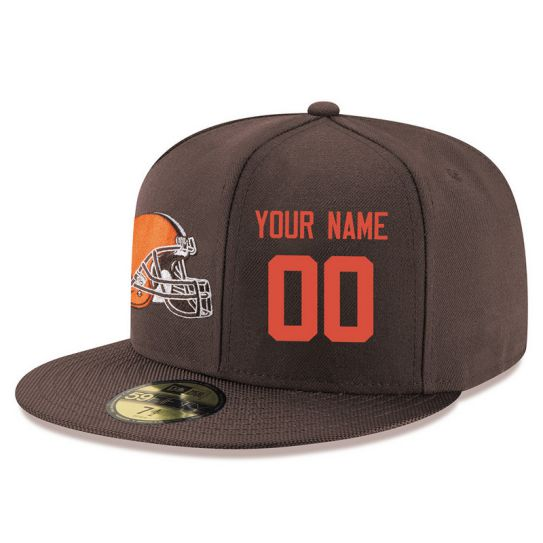 Cleveland Browns Custom Brown NFL Hat