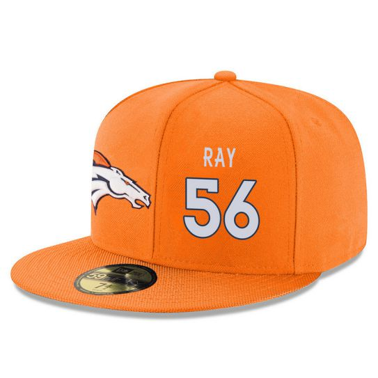 Denver Broncos 56 Ray Orange NFL Hat