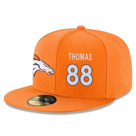 Denver Broncos 88 Thomas Orange NFL Hat