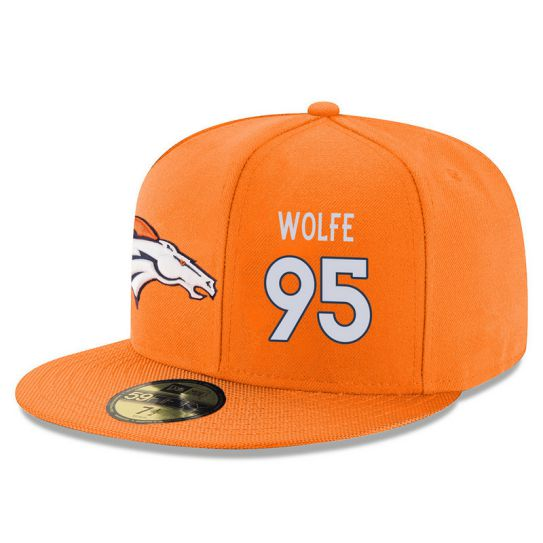 Denver Broncos 95 Wolfe Orange NFL Hat
