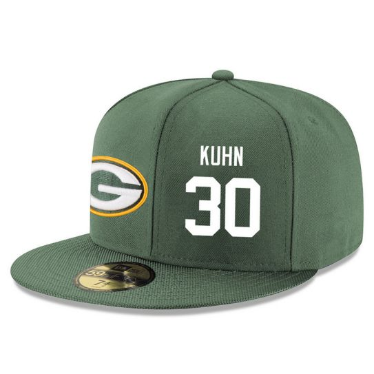 Green Bay Packers 30 Kuhn Green NFL Hat