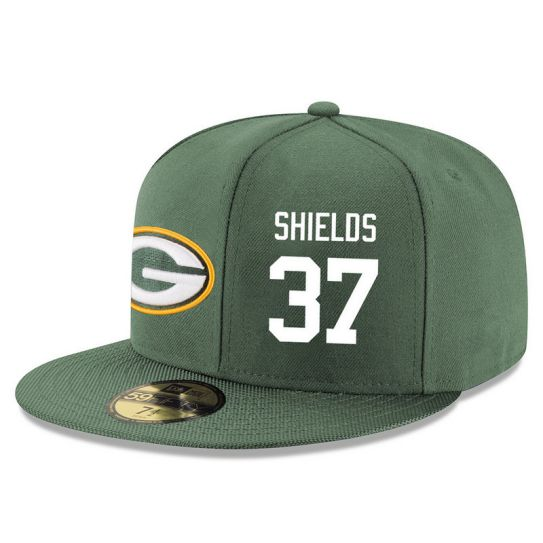 Green Bay Packers 37 Shields Green NFL Hat