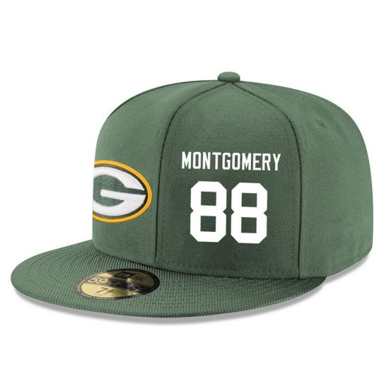 Green Bay Packers 88 Montgomery Green NFL Hat