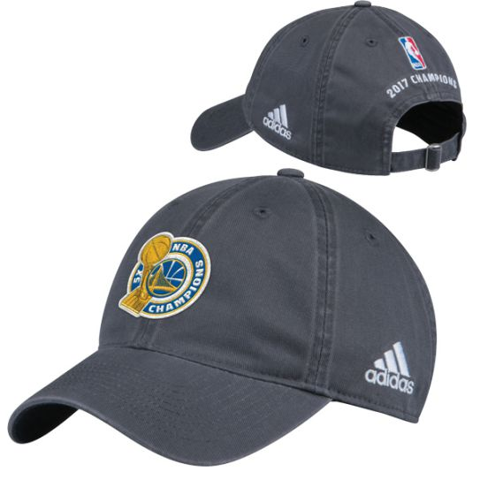 Hot NBA adidas Golden State Warriors 2017 Finals Champions Adjustable Hat