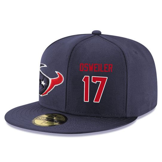 Houston Texans 17 Osweiler Blue NFL Hat
