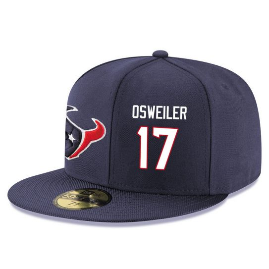 Houston Texans 17 Osweiler NFL Hat