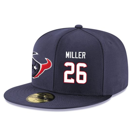 Houston Texans 26 Miller NFL Hat