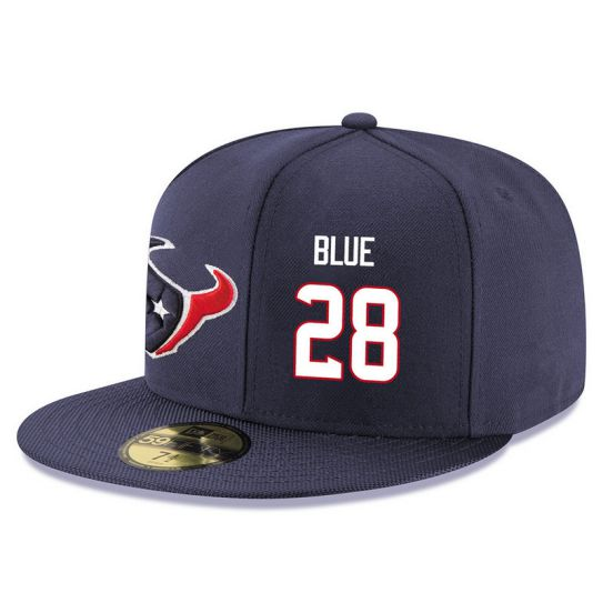 Houston Texans 28 Blue NFL Hat