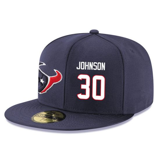 Houston Texans 30 Johnson NFL Hat