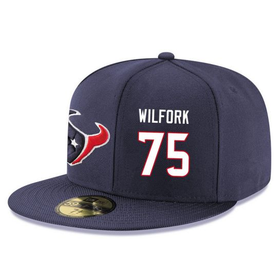 Houston Texans 75 Wilfork NFL Hat