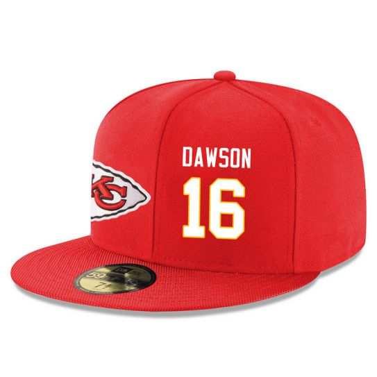 Kansas City Chiefs 16 Dawson Red NFL Hat