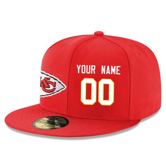 Kansas City Chiefs Custom Red NFL Hat