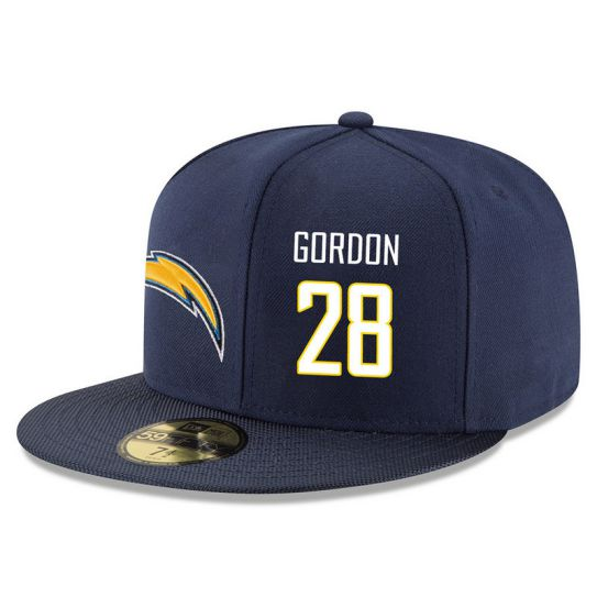 Los Angeles Chargers 28 Gordon Blue NFL Hat