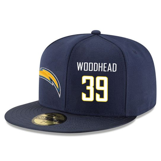 Los Angeles Chargers 39 Woodhead Blue NFL Hat