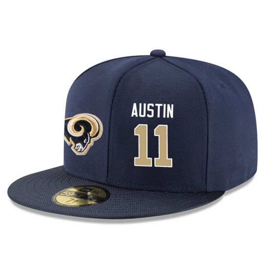 Los Angeles Rams 11 Austin Blue NFL Hat