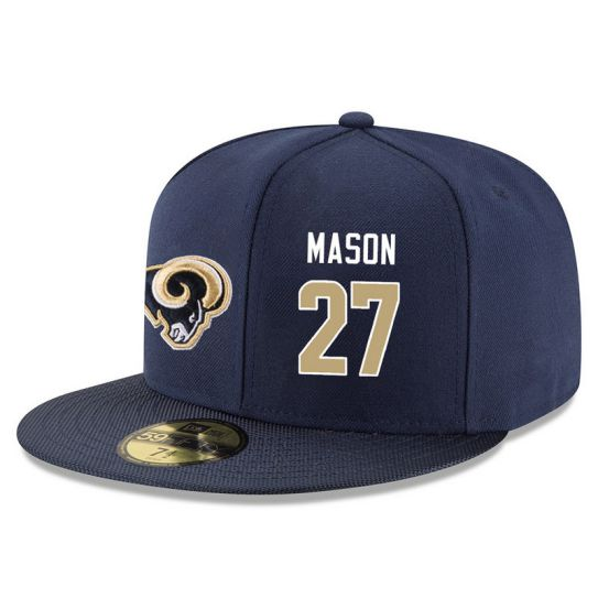 Los Angeles Rams 27 Mason Blue NFL Hat