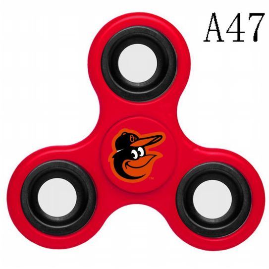 MLB Baltimore Orioles 3-Way Fidget Spinner-A47