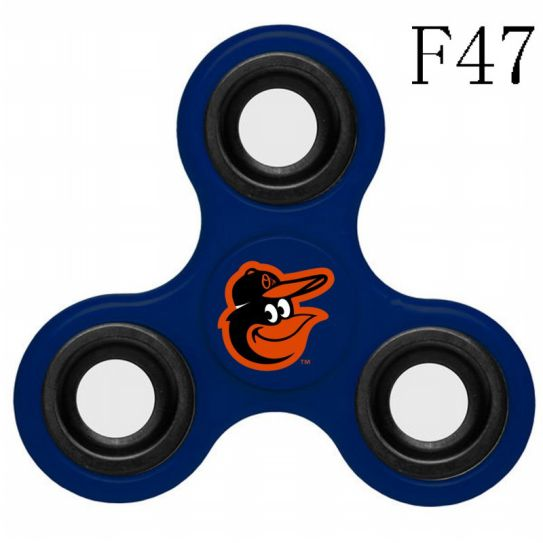 MLB Baltimore Orioles 3-Way Fidget Spinner-F47