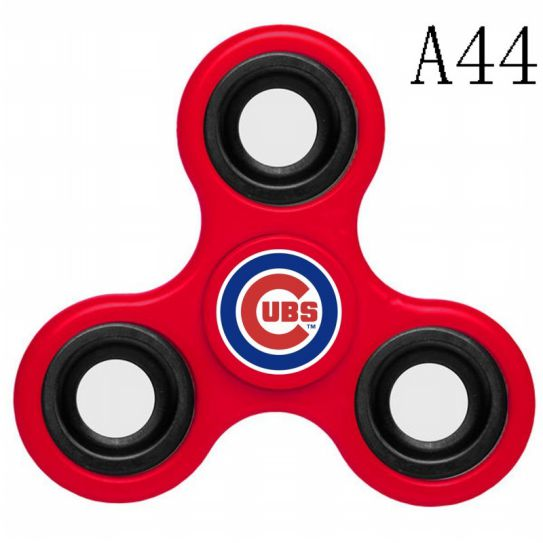 MLB Chicago Cubs 3-Way Fidget Spinner-A44