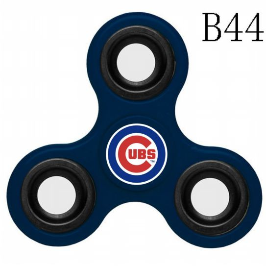 MLB Chicago Cubs 3-Way Fidget Spinner-B44
