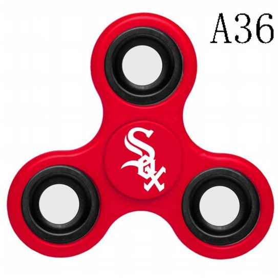 MLB Chicago White Sox 3-Way Fidget Spinner-A36