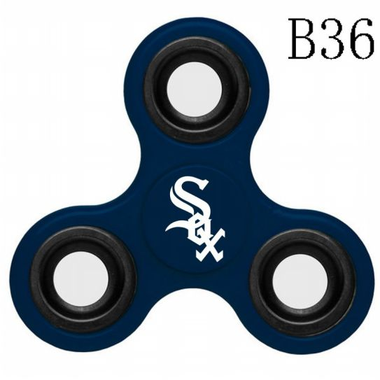 MLB Chicago White Sox 3-Way Fidget Spinner-B36