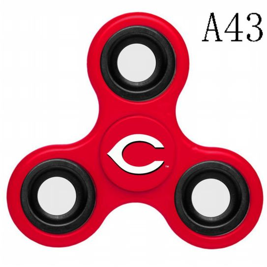 MLB Cincinnati Reds 3-Way Fidget Spinner-A43