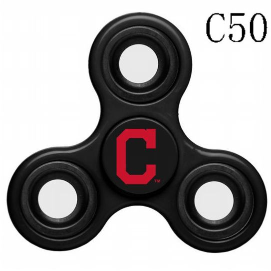 MLB Cleveland Indians 3-Way Fidget Spinne-C50