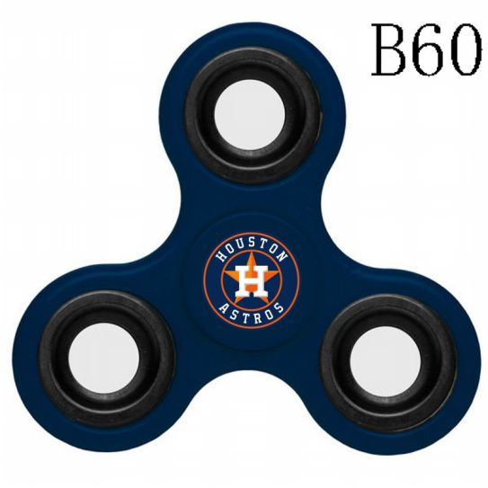 MLB Houston Astros 3-Way Fidget Spinner-B60