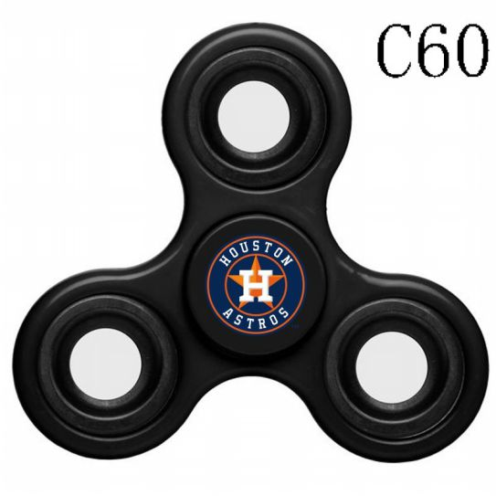 MLB Houston Astros 3-Way Fidget Spinner-C60