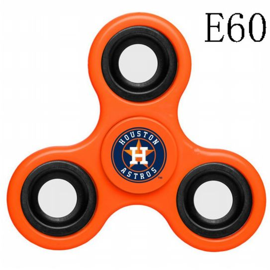 MLB Houston Astros 3-Way Fidget Spinner-E60