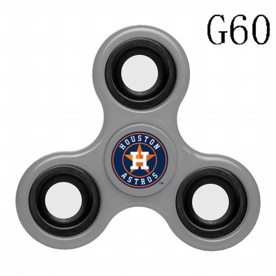 MLB Houston Astros 3-Way Fidget Spinner-G60
