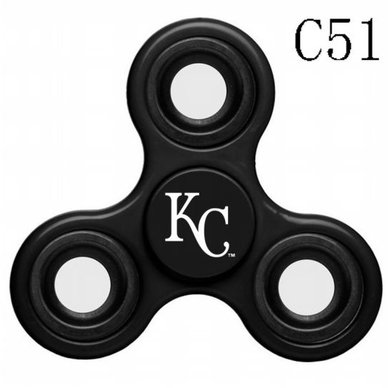 MLB Kansas City Royals 3-Way Fidget Spinner-C51